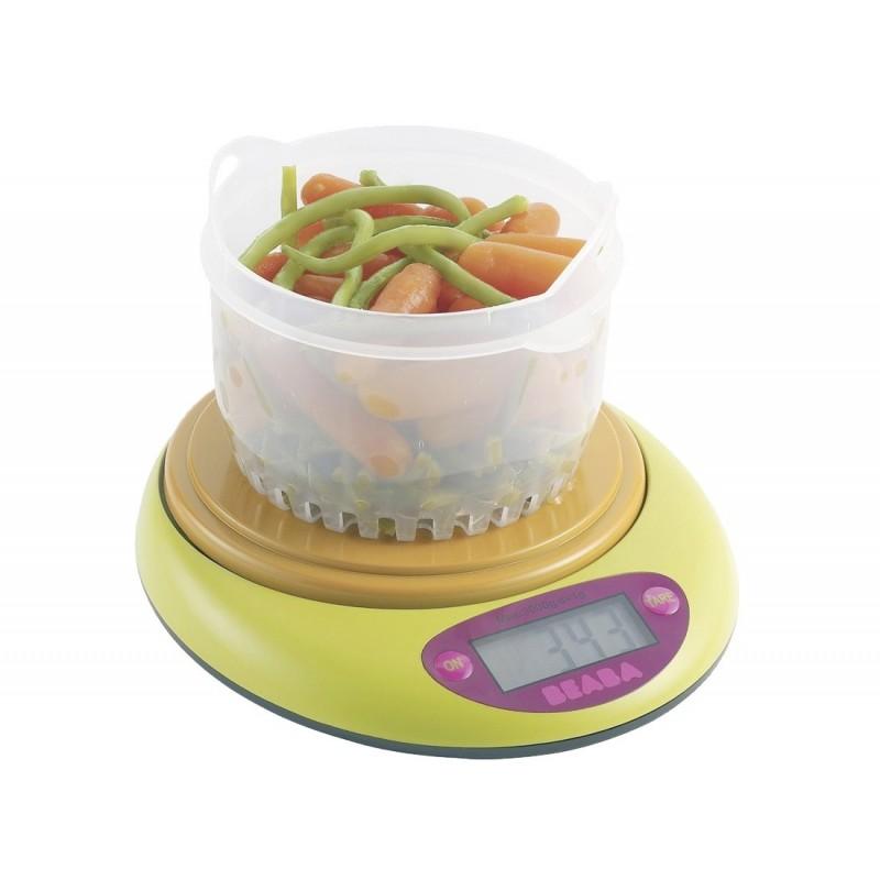 B scula de cocina digital babycook de beaba gaspachitos - Bascula de cocina barata ...